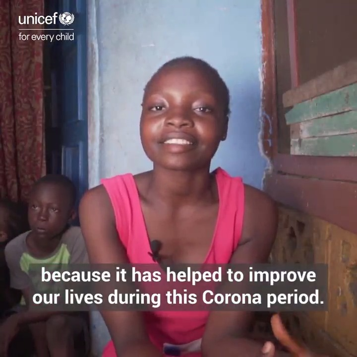 15-year-old Marie shows us how cash transfers are helping her family get through the COVID-19 pandemic in Sierra Leone.