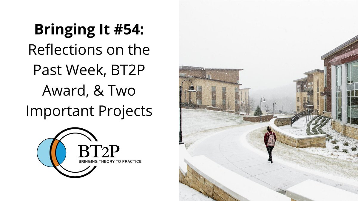 In this week's edition of #BringingIt, we reflect on the events of the past week, announce an award by @HLuceFdn, and feature projects by friends at @pitzercollege and @USCPullias. Read more here: https://t.co/Avi6UXr89h