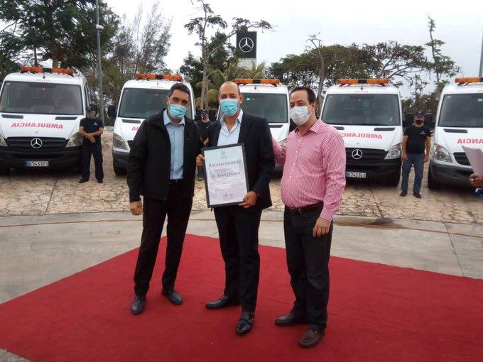 Donativo de 14 ambulancias a Cuba fortalece sistema sanitario de la Isla