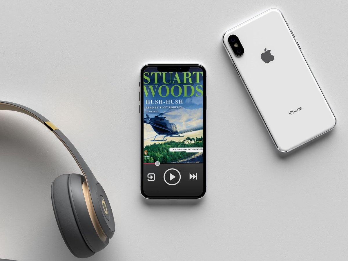 From the New York Times best selling author Stuart Woods, listen to the latest thrilling journey of Stone Barrington as he faces a tech-savvy enemy in New York City. Listen to Hush-Hush now on @PRHAudio. https://t.co/LzqzXApFPY #Sponsored https://t.co/F0uFJHnN2v