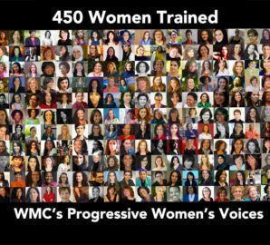 We are now accepting submissions for our premier media and leadership training program: Progressive Women's Voices 2021!   Women who are eager to dive into the media conversations on today's most important issues, apply by midnight PST Sunday, March 14!