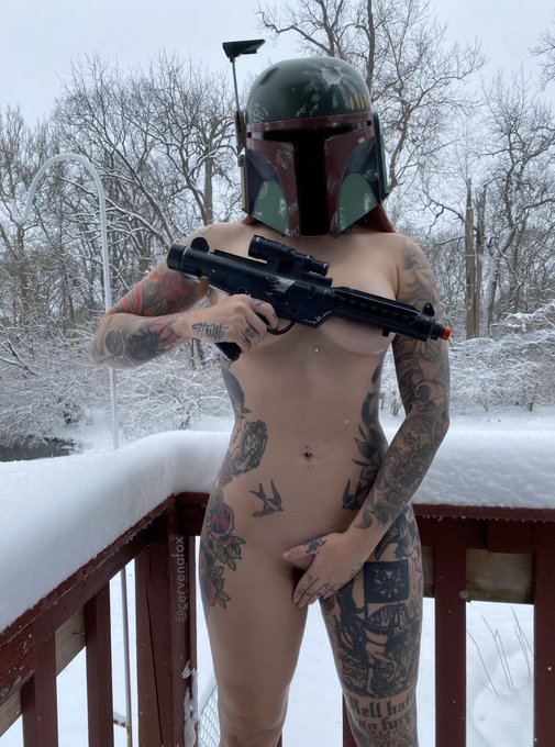 Want to see more photos like this? New Starwars set being uploaded this evening on my Onlyfans -  https://t