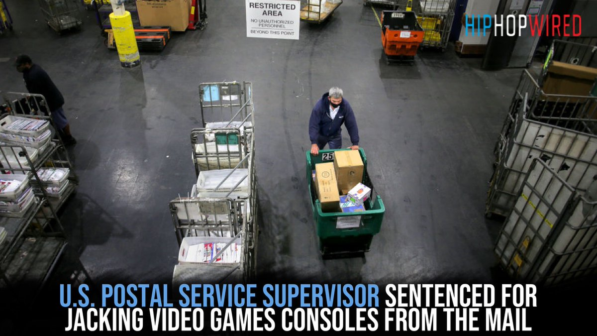 Why You Probably Didn't Get Your PS5: U.S. Postal Service Supervisor Sentenced For Jacking Video Games Consoles From The Mail  ➡️   📸 Getty