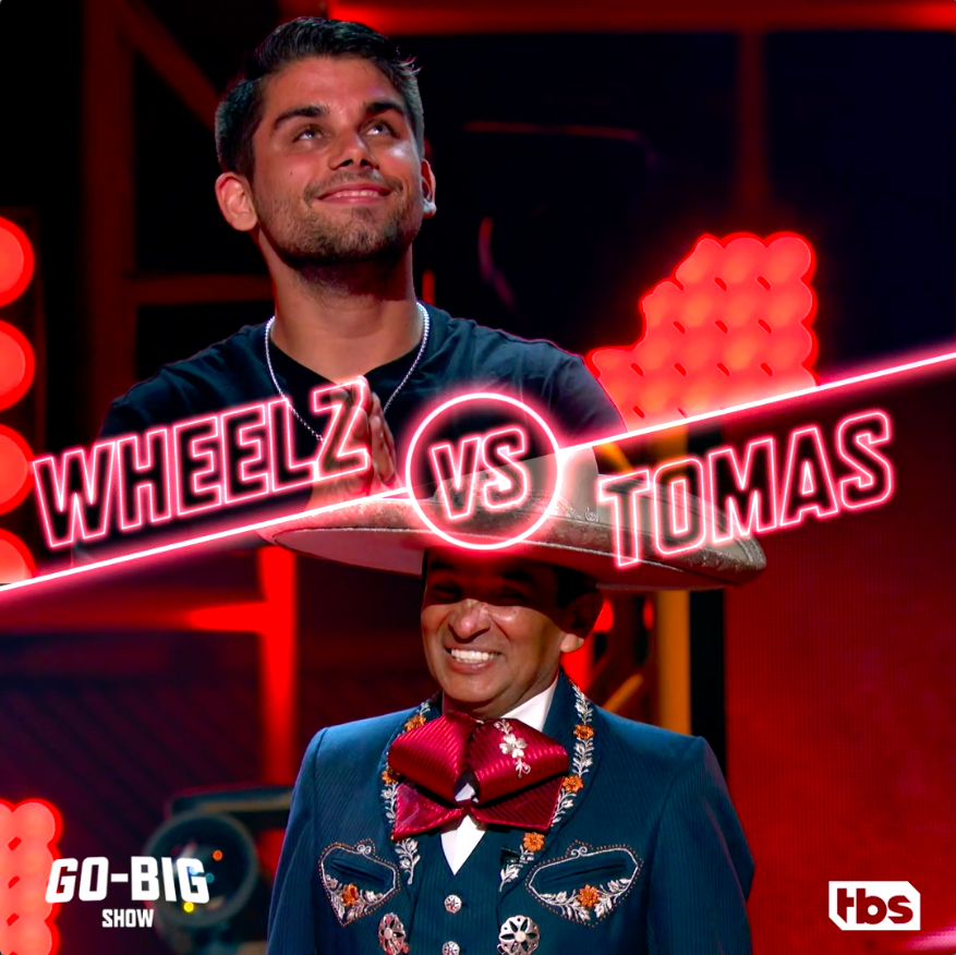 These acts are ready to Go-Big! But who will end up going home? Find out tonight at 9/8c on @TBSNetwork. 🎉  #GoBigShow