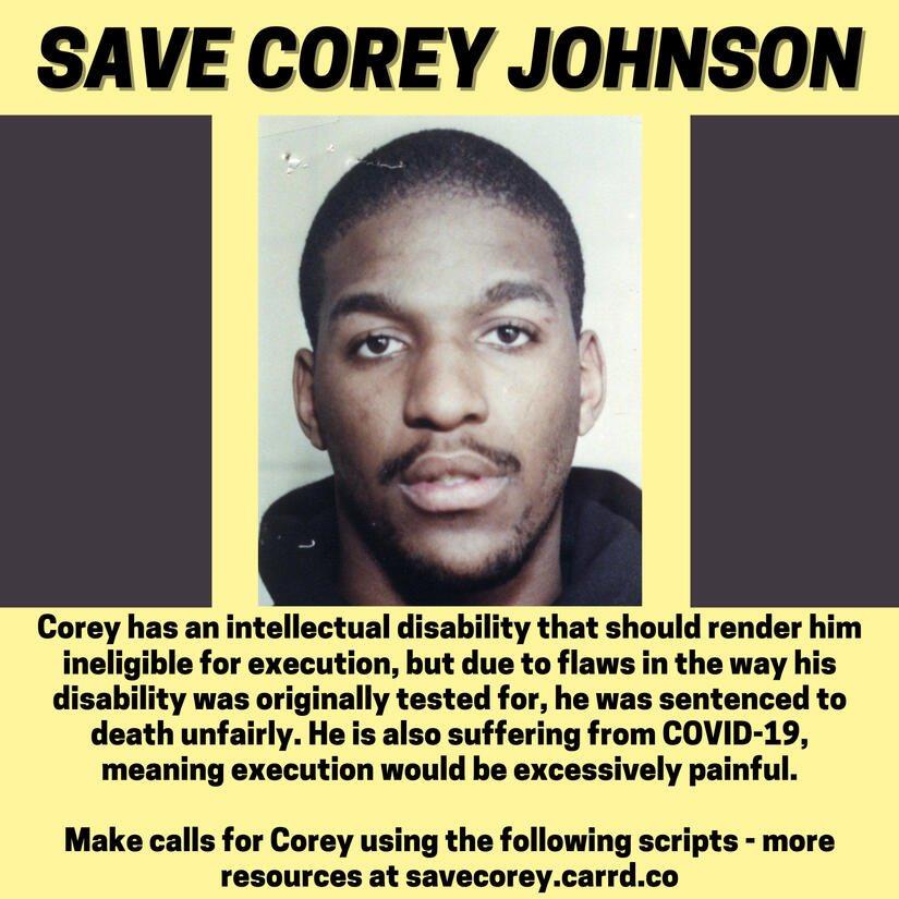 Replying to @KahlenBarry: SAVE COREY JOHNSON. RT & TAKE ACTION.