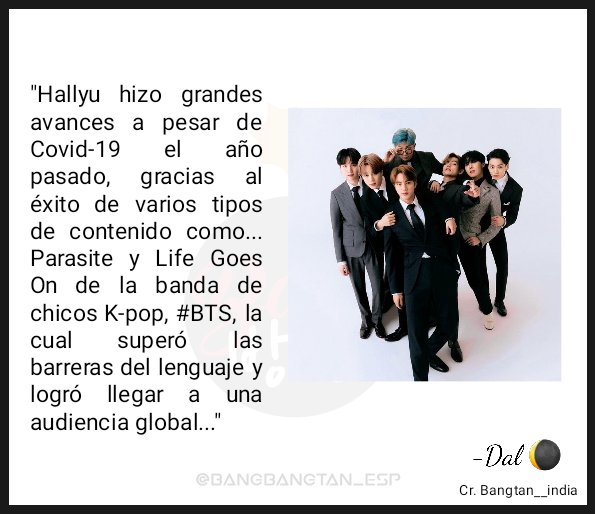 📍Un artículo de Korea Times sobre Hallyu (ola coreana) menciona a @BTS_twt   🔗  ~Like an echo in the forest🍃💜💜  Dal🌘 Cr: bangtan__india #BTS #방탄소년단
