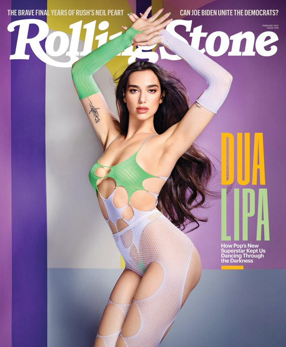 So we've got @DUALIPA dressed as a stripper for the cover of @RollingStone but actual sex workers can't