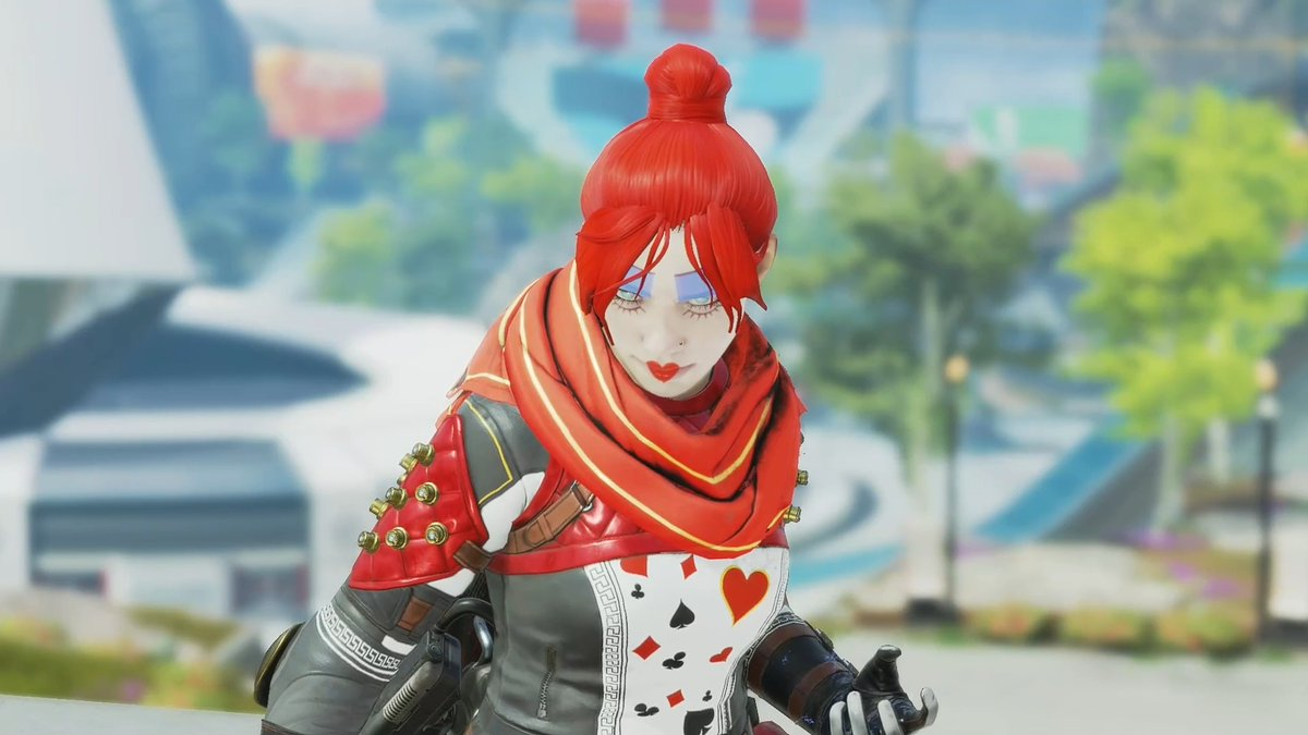 Cross her and it's off with your head! 👑 ❤️  Paint The Outlands red with the Queen of Hearts Wraith skin, available through February 17 when you link your #PrimeGaming account.   🃏: