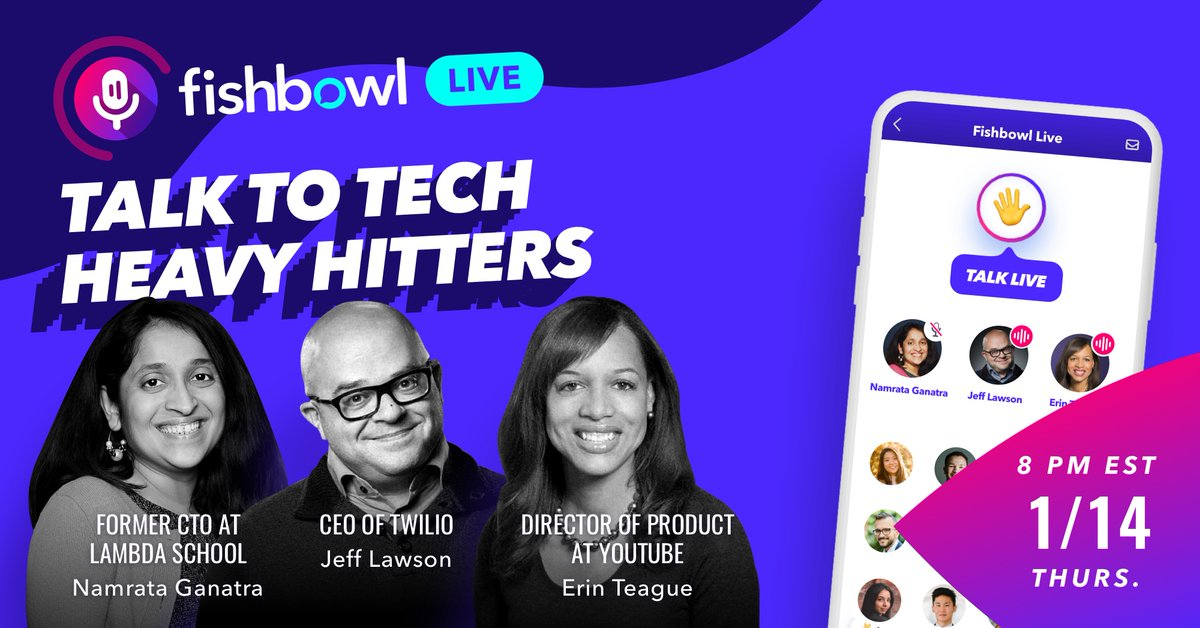 Looking forward to this conversation tonight about how companies can leverage software development to win in the digital economy with @jeffiel inspired by #AskYourDeveloper on @fishbowlapp: