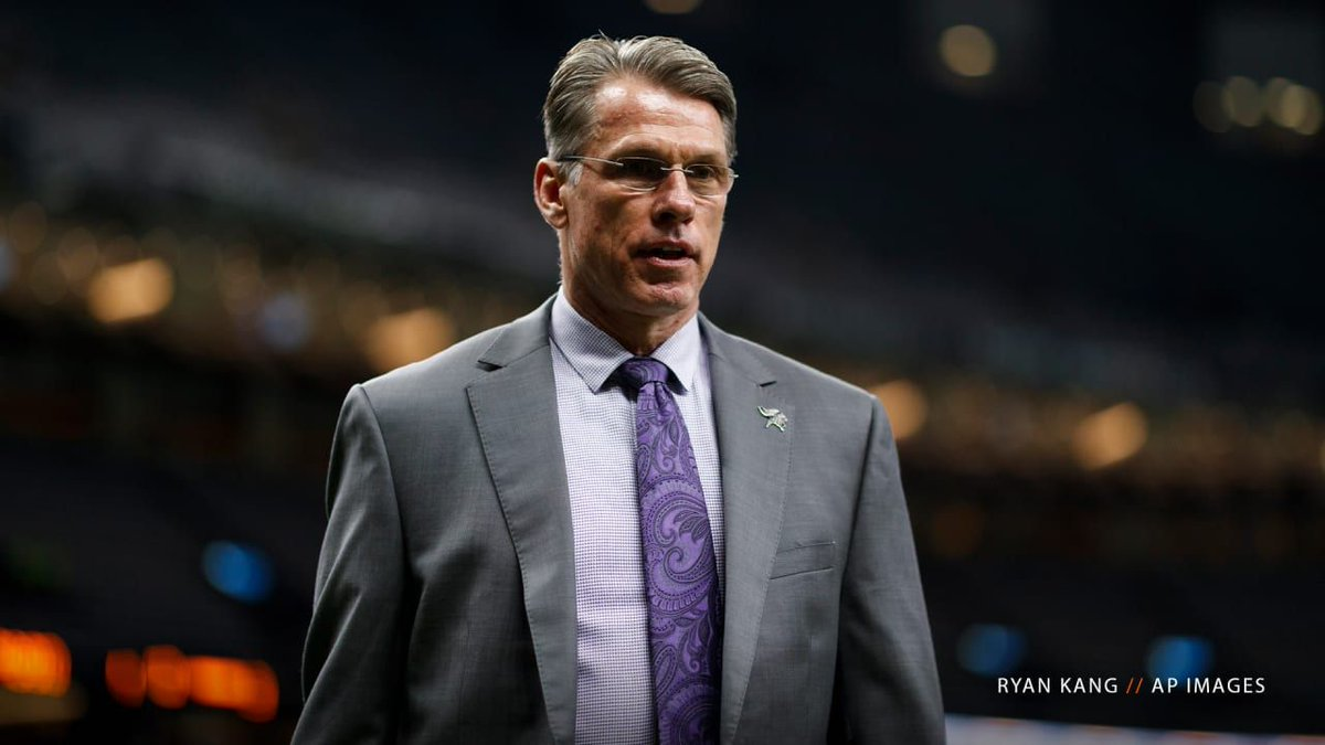 """This was just such a unique opportunity to go to a great franchise that it was just too hard for him to pass up.""  1-on-1 with Vikings GM Rick Spielman on our new GM George Paton:"