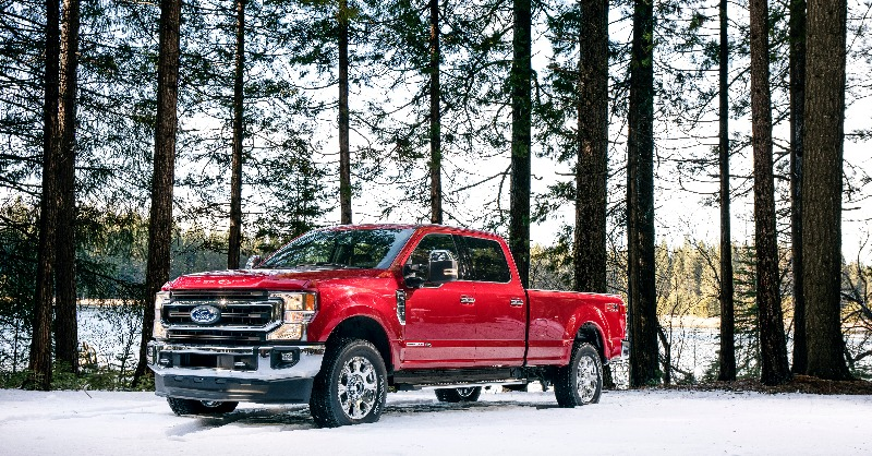 In the mud or the snow, this is our pick! #GreaterTXFord #Ford #SuperDuty #FrontEndFriday #FordFriday