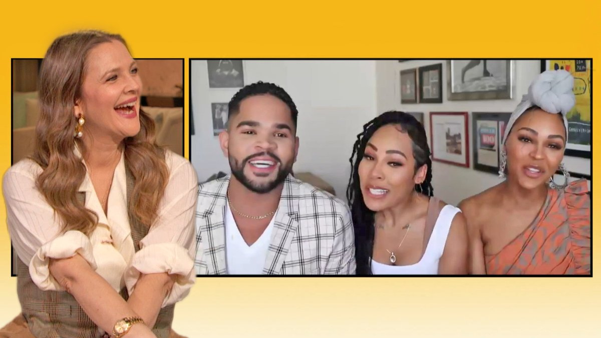 Drew discovers that @MeaganGood & her cousin @DijonTalton go to her favorite dance class 💃 Watch more: