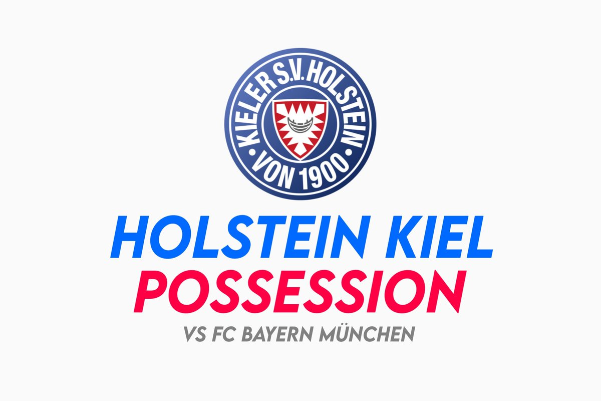 Holstein Kiel - Possession Video  (vs #FCBayern)   • 10min video of the best sequences of Holstein #Kiel in possession vs #Bayern   • Created for educational purpose to coaches inspired by this possession style  • For appreciation - RT & Follow!