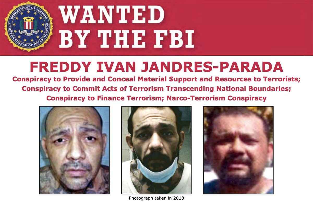 Of the 14 defendants, Freddy Ivan Jandres-Parada, Hugo Armando Quinteros-Mineros, and Cesar Humberto Lopez-Larios remain at large. Call 1-866-787-6713 or visit tips.fbi.gov if you have information about their whereabouts. Rewards are available. fbi.gov/wanted/cei