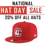 Image for the Tweet beginning: Tomorrow, January 15th is #NationalHatDay
