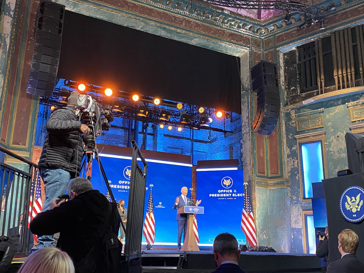 .@JoeBiden unveils his coronavirus stimulus package from Wilmington, Delaware. https://t.co/DWp9Qc4db3