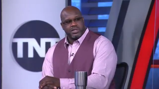 """""""When you say you gave the city your all, that ain't true.""""  @SHAQ reacts to the James Harden trade  (via @NBAonTNT)"""