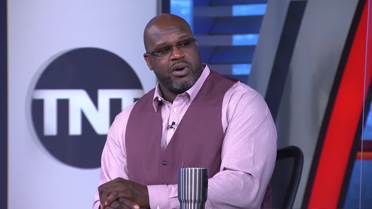 """""""He got his superteam. He has to win this year. If he doesn't win this year it's a bust.""""   @SHAQ reacts to Harden being traded to Brooklyn."""