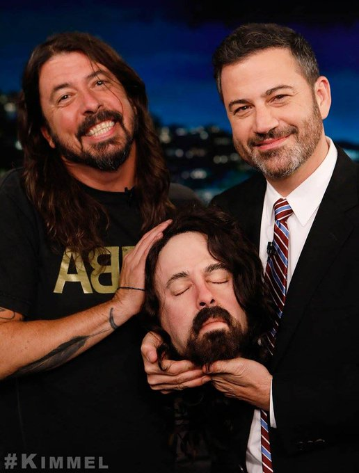 - Happy Birthday Dave Grohl! See you tonight!