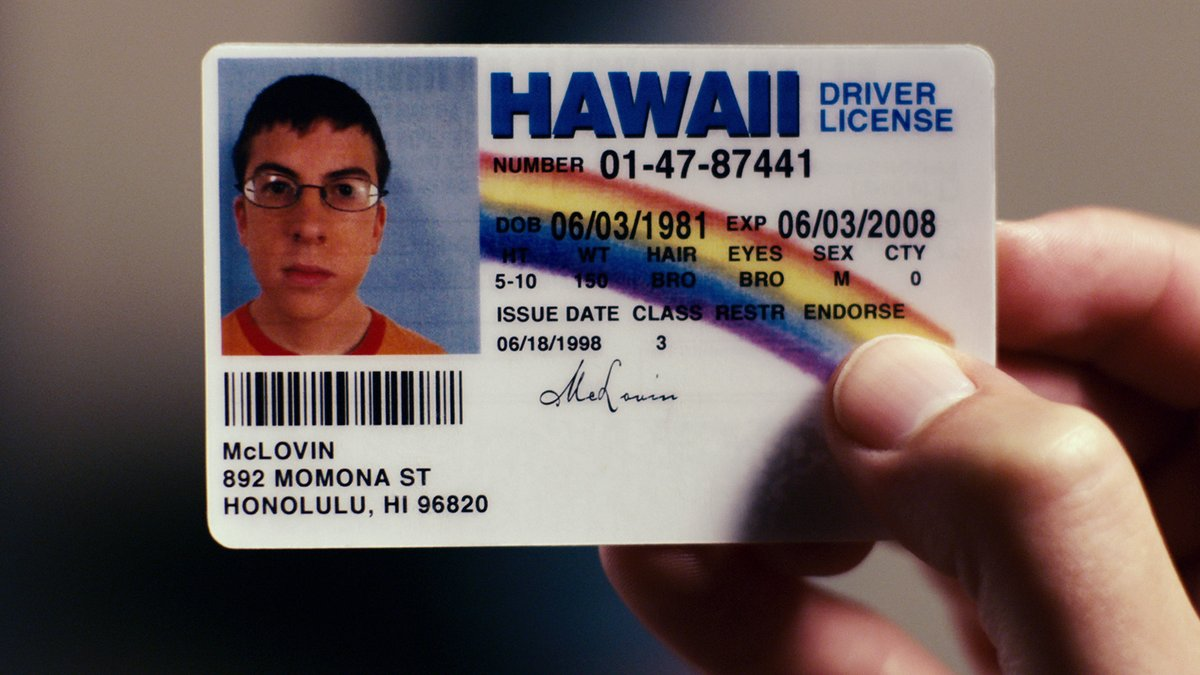 i got my driver's license last week, just like we always talked about