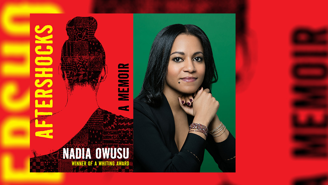 """On Jan. 19th at 6PM author @NadiaOwusu1 will talk with @jessicashattuck about her new memoir, """"Aftershocks"""" that looks at race, identity & immigration, the emotional toll of family secrets and the struggle of belonging.  🗓️ RSVP @AncestorExperts  >>>"""
