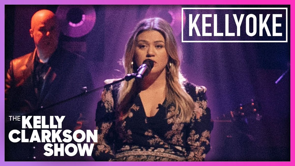"""Covers que a @kellyclarkson fará no #TheKellyClarksonShow da próxima semana: 🎤 #Kellyoke  ✨ @PattyGMusic - """"Up To The Mountain"""" ✨ #TracyChapman - """"Give Me One Reason"""" ✨ @kylieminogue - """"Can't Get You Out of My Head"""" ✨ @cyndilauper - """"Girls Just Wanna Have Fun"""""""