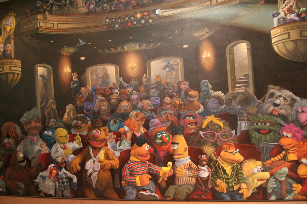 Here's a guide for classifications 💚  The Muppet Show, Sesame Street, Fraggle Rock, Emmet Otter, Christmas Toy and Bear in the Big Blue House are classified as Muppets  The Dark Crystal, Labyrinth, Dinosaurs, Storyteller, Farscape, and Earth to Ned are classified as Creatures