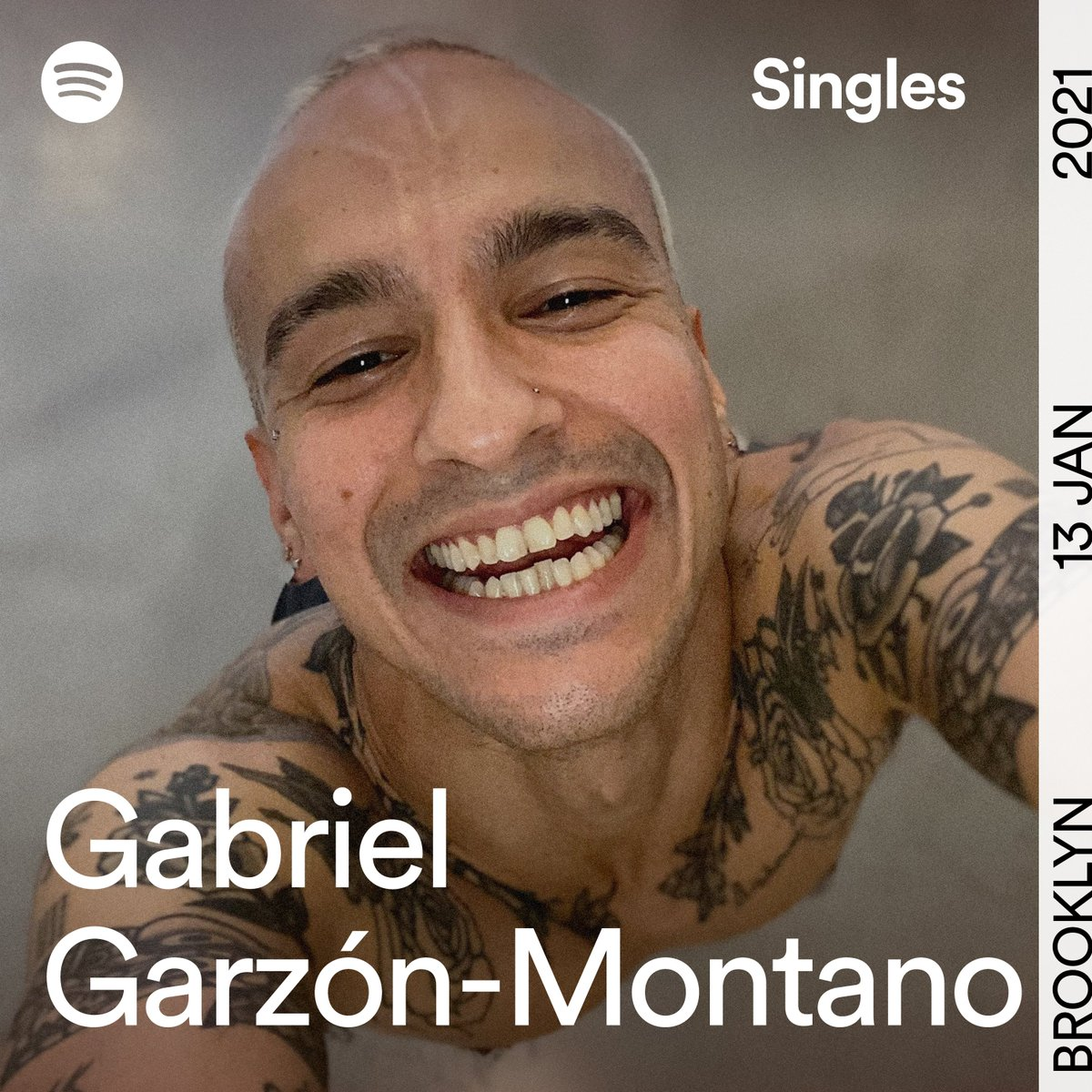 This will put a smile on your face 😀 #GabrielGarzónMontano just gave us two tracks for the latest #SpotifySingles. Turn up the volume on #OOPS and #WithASmile