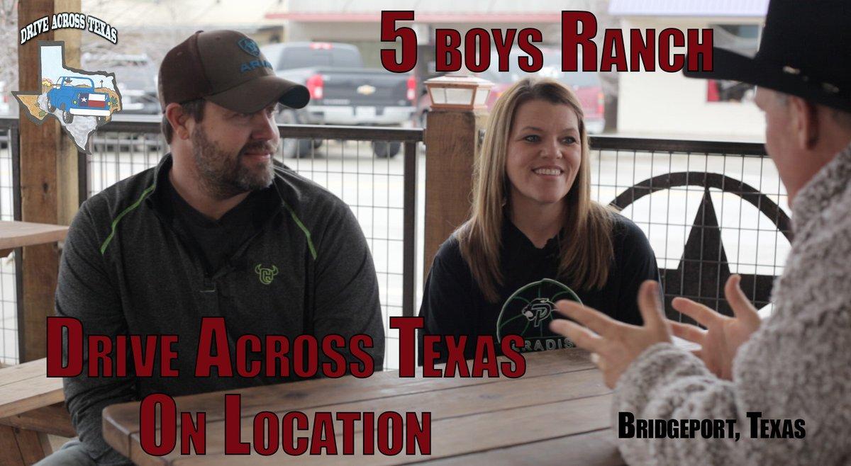Saturday Vibes from Drive Across Texas!  #saturdayvibes #5boysranch #bridgeporttexas