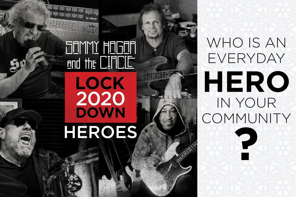 We want to know who the everyday heroes are in your community! Comment with your answers.  Sammy is signing a few copies of The Circle's new album Lockdown 2020 to give away! All winners will be picked at random at the end of this week.