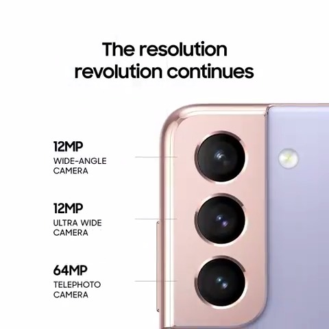 Beauty is all in the details. #GalaxyS21 and Galaxy S21 Plus. #SamsungUnpacked Learn more: