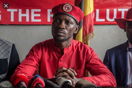 """""""Even if Bobi Wine does not win these elections, nature will resolve Museveni.. The Future is on the side of Bobi Wine""""  -- Julius Malema"""