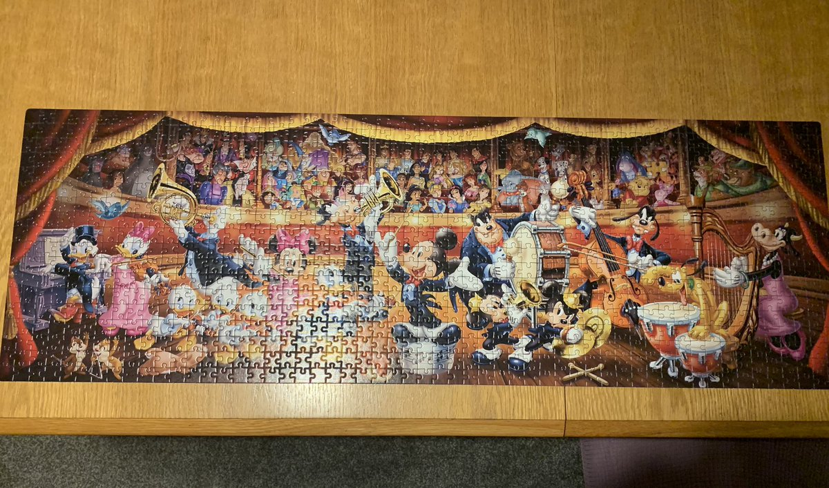 Jigsaws keeping me sane in lockdown 3.0 and this cold weather