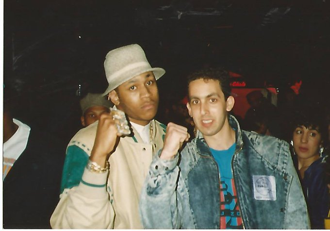 Now here is a REAL Throwback pic of me and LL Cool J 1980\s. Happy Birthday to a great guy!