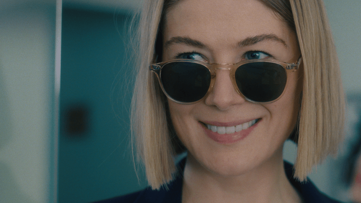 I think we can all agree that Rosamund Pike