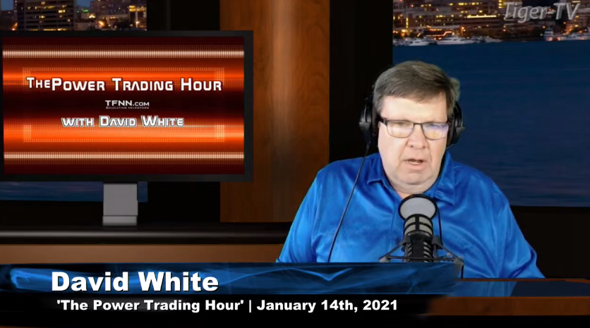 David White hosts the Power Trading Hour for Thursday afternoon on @TFNN and discussed $LXRX $TLT $ZM $TSLA $XLE $CCJ $TNA and more! #Financialeducation #TradingView #ThursdayThoughts #PathofLeastResistance #TechnologyInsider #StockMarketNews #TFNN