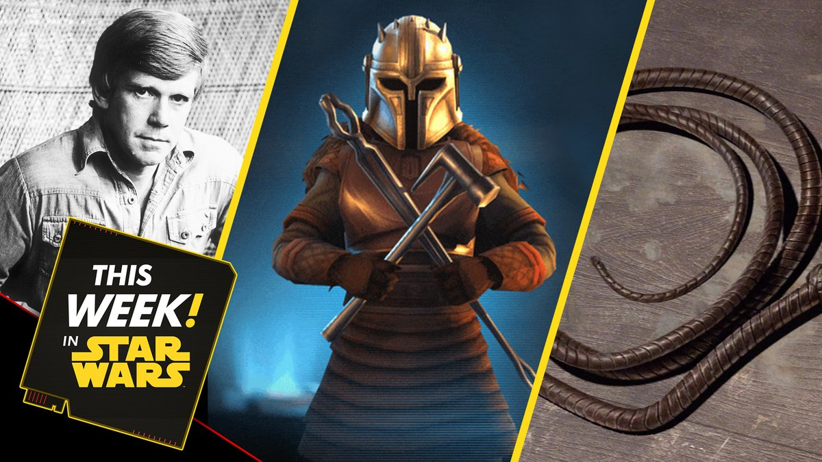 We're back! #ThisWeekInStarWars we have all the @LucasfilmGames news, new products from Batuu, and much more!