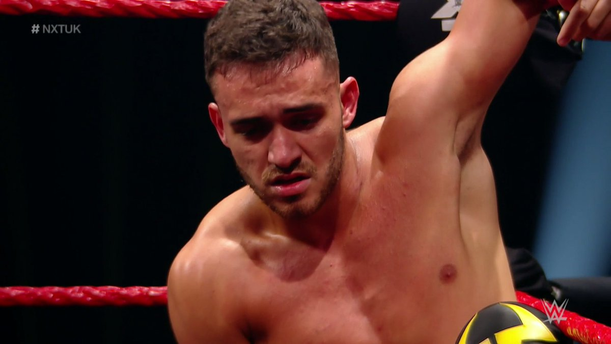 👏👏👏👏👏👏👏 @AKidWrestler had the fight of his life, gave it his all and has nothing to be ashamed of. However, the #NXTUK Championship remains firmly in the grasp of @WalterAUT.