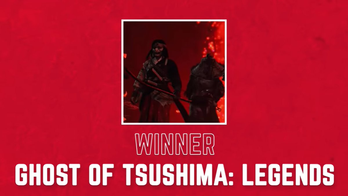 Thank you to @BlessingJr for the Ghost of Tsushima: Legends love! And congrats on the new show!