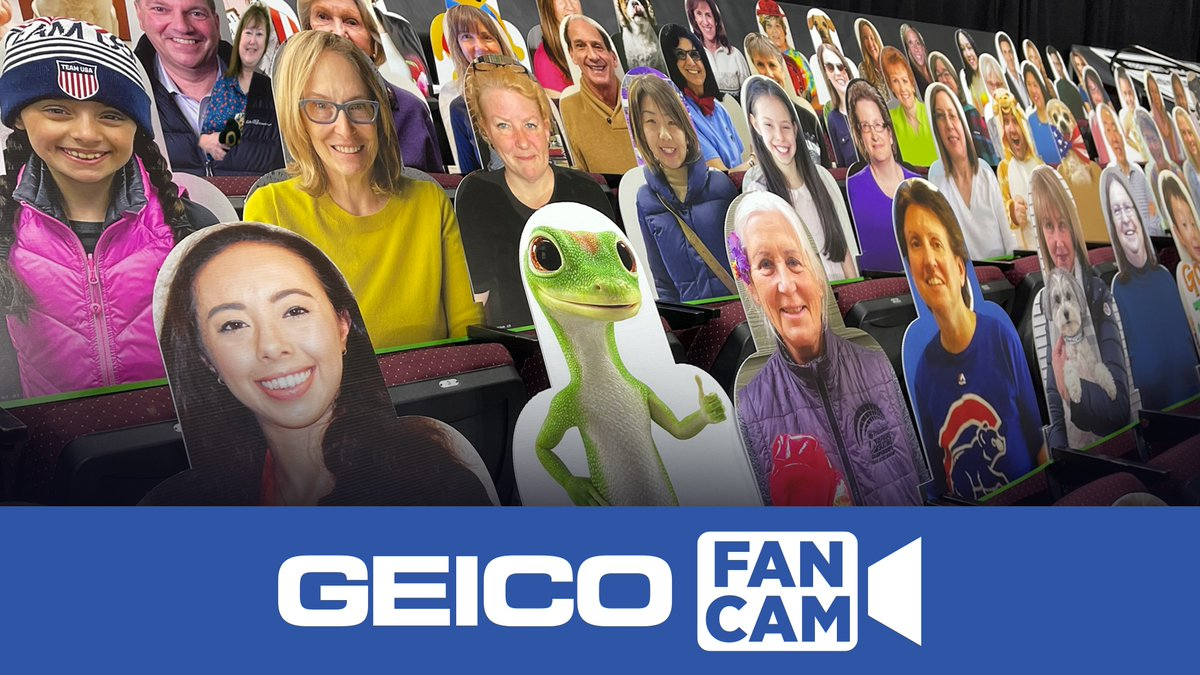 Check out the @GEICO Fan Cam on the #ToyotaUSChamps21 Virtual Fan Experience!   You might just see some familiar faces ➡