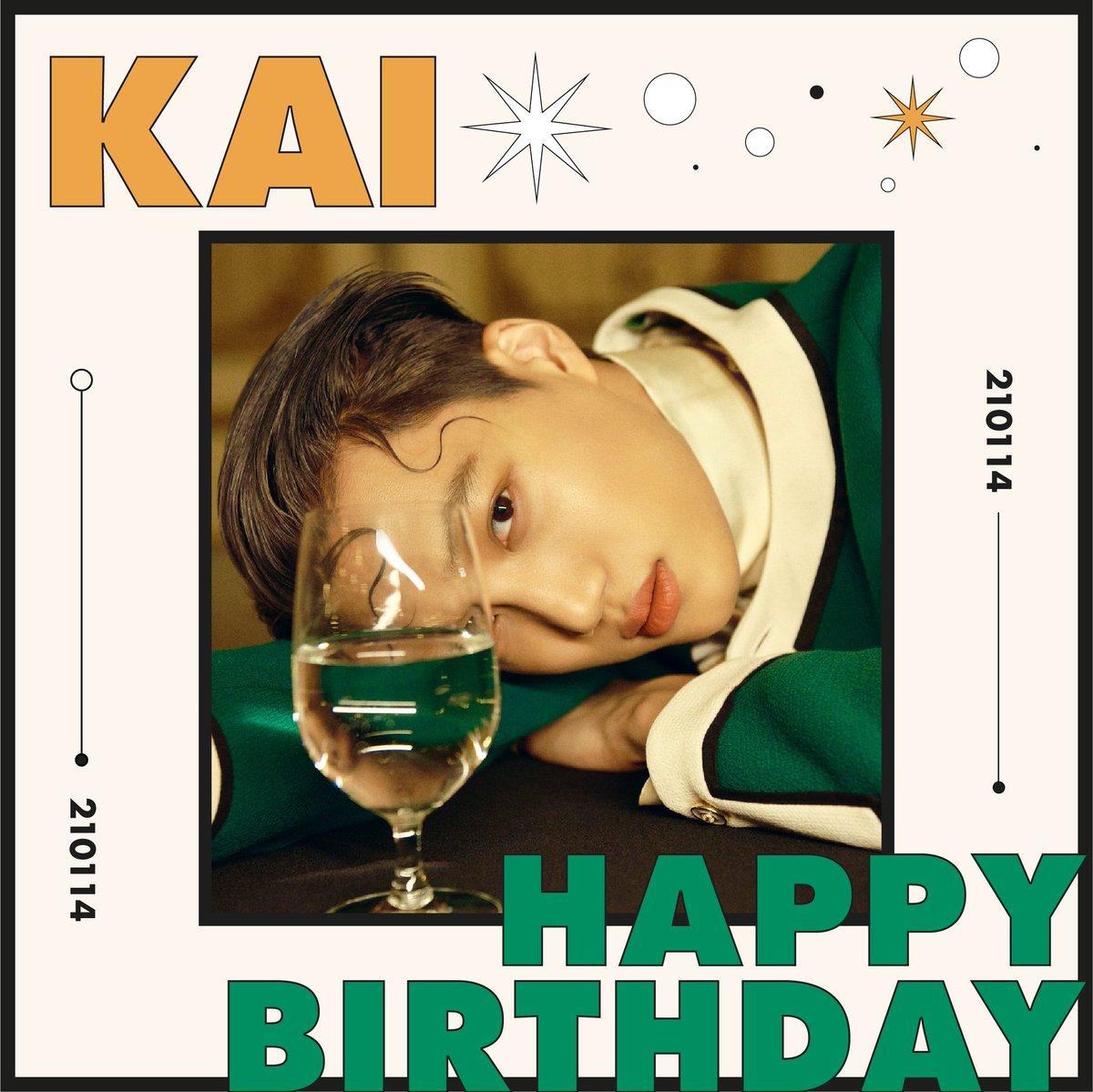 Siempre llego tarde, pero no importa. Feliz cumpleaños a KAI, ahr, lo quiero demasiado.   #HappyKaiDay #kaibirthday #EXOKAI #HappyBirthdayKai