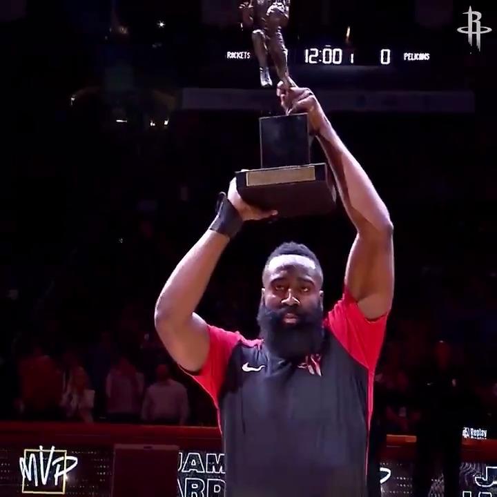 Rockets' farewell video to Harden 🙏  (via @HoustonRockets) https://t.co/3toKnHG4Vb