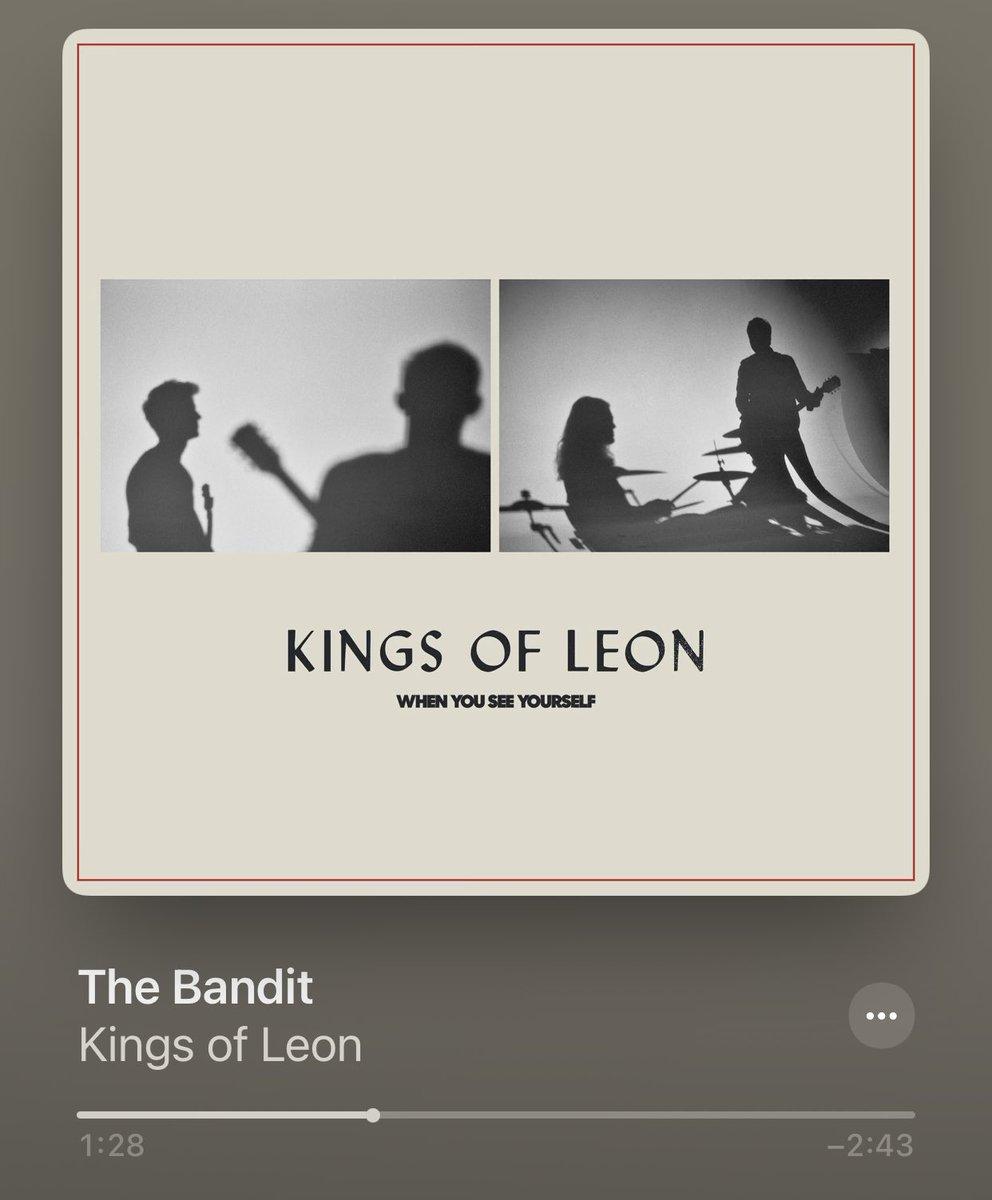 Hola @KingsOfLeon 😎 me gusto!  #TheBandit #KOL #KingsOfLeon
