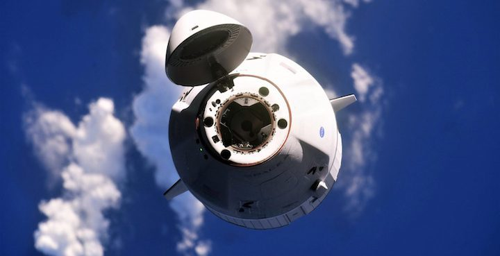 Raumfahrt - SpaceX #CargoDragon spacecraft set to splashdown in Atlantic: