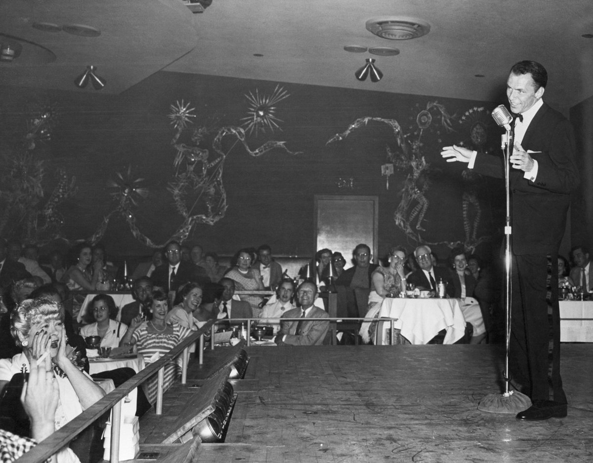#FrankSinatra has taken home a GRAMMY for Album Of The Year three times:  🎤  🎵 'Come Dance With Me' at the 2nd #GRAMMYs in 1959 🎵 'September Of My Years' at the 8th #GRAMMYs in 1965 🎵 'A Man And His Music' at the 9th #GRAMMYs in 1966