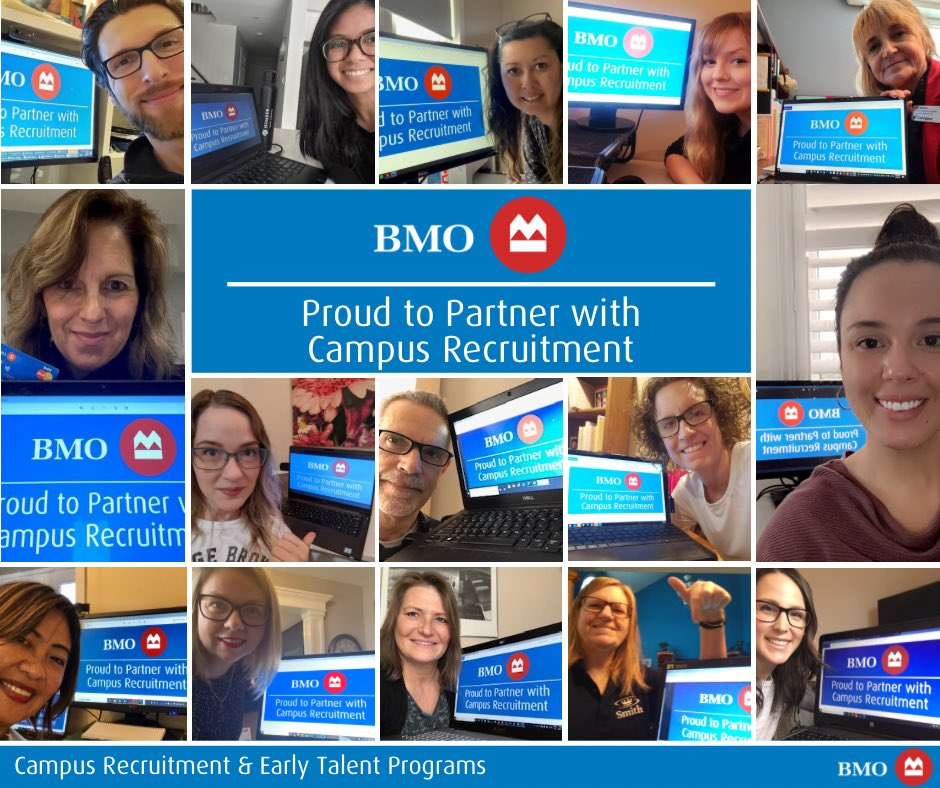 Thank you to our 75+ career centre partners from campuses across North America who joined us for BMO's Annual Career Centre Day! 💼  #campusrecruitment #students #interns #internships #cooperativeeducation
