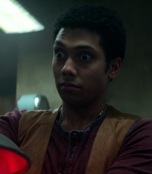 Let's take a moment to celebrate Chance Perdomo's signature panic face   (📺: Chilling Adventures of Sabrina)