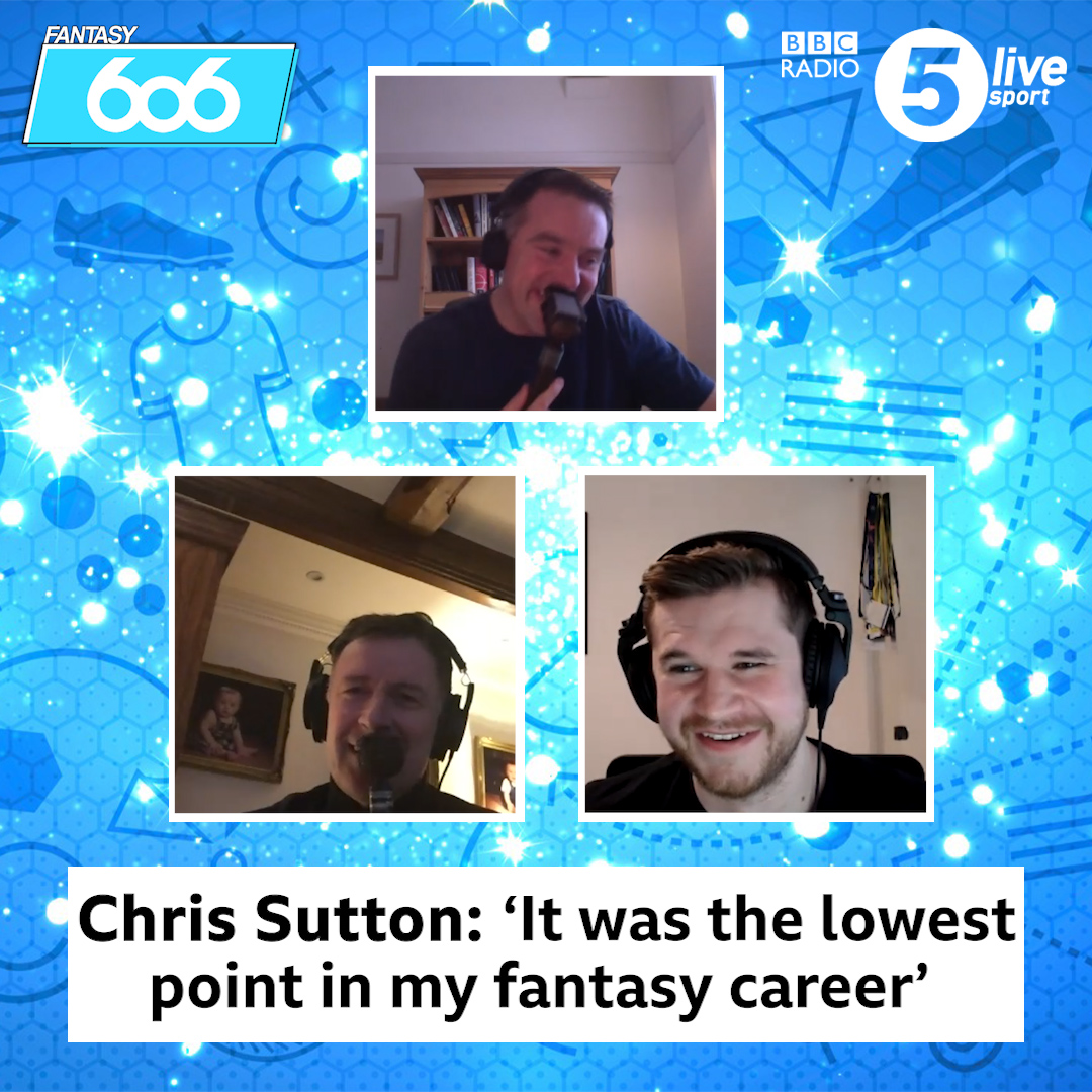 Every #fpl manager has had one of these Gameweeks...  Chris Sutton after the #MCIBHA game 🤬  Join @chris_sutton73, @alibruceball and @StatmanDave for the latest episode of #Fantasy606 ⬇️  🎧📲   #bbcfootball