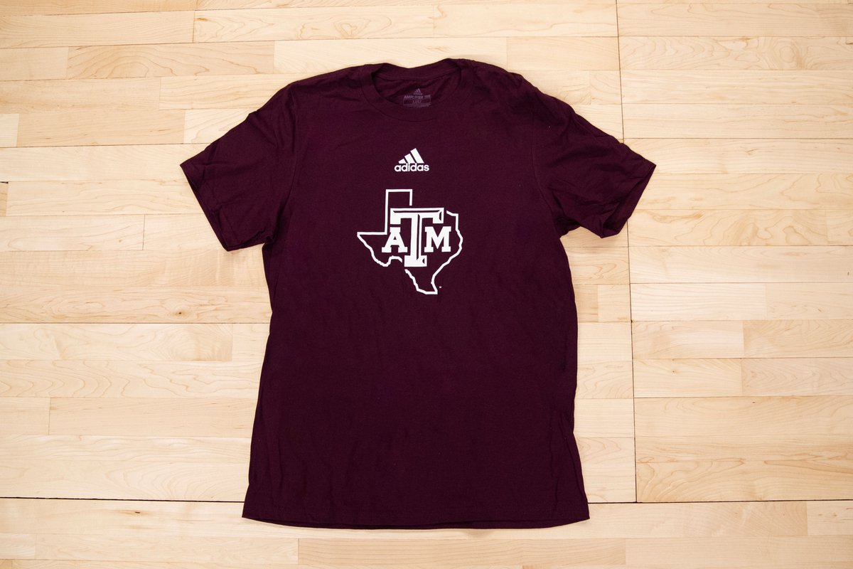 🚨 Giveaway Alert @aggiembk 🚨 On Saturday, be one of the first 850 fans to the game to pick up an A&M adidas shirt 👍 Doors open at 11 AM! ➡️ 12thMan.com/MBBTickets #GigEm