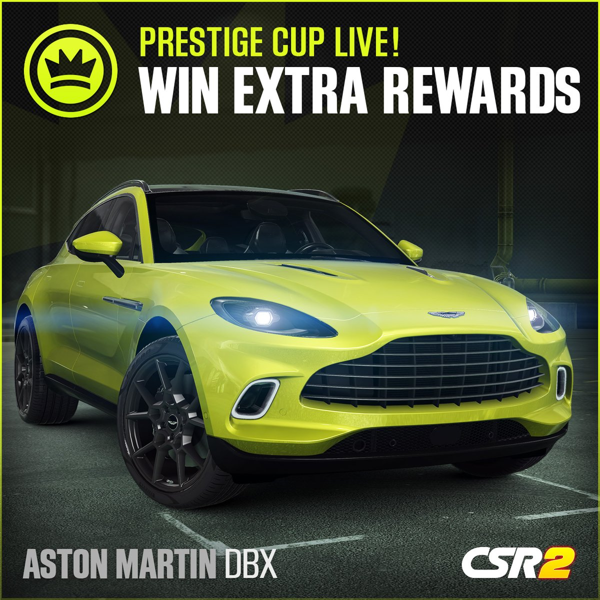 A modern British beauty is the car of the moment, can you be your best in the @csrracing @astonmartin DBX? #CSR2 #AstonMartin